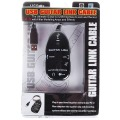 PC / Mac Recording Black Guitar to USB Interface Link Cable