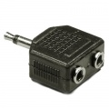 3.5MM Male to Double 3.5mm Male Audio Splitter Jack