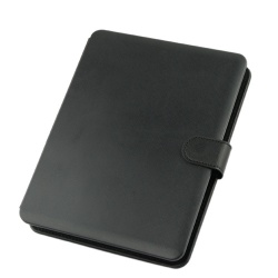 "9.7"" MID Tablet PC Black Leather Case with USB Interface Keyboard"