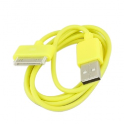 iPhone iPod iTouch Yellow New USB Data Charger Cable Cord