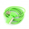 iPhone iPod iTouch Green New USB Data Charger Cable Cord