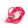 iPhone iPod iTouch Purple New USB Data Charger Cable Cord