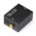 Digital Optical Coax to Analog RCA Audio Converter