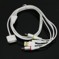 1.5M AV Cable USB 2+1 Kit for iPad iPod iPhone Version 5.0