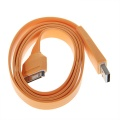 IPad2/3iPhone4/4S data line charging line data transmission line orange
