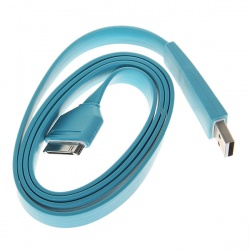 IPad2/3iPhone4/4S data line charging line data transmission line blue