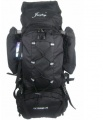70L Camping Hiking Travel Mountain Outdoor Rucksack Backpack Climbing Bag Black