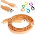 HTC/Samsung/BlackBerry etc 1m Noodle Style Micro USB Cable