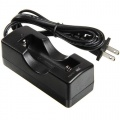 Single Channel 18650 Lithium Battery Charger Flashlight Torch Accessory