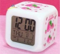 large strawberry colorful color Alarm Clock random color