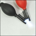 Camera Keyboard Lens Black Multi-function Cleaning Blowing Ball with LED Light