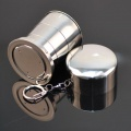 Outdoor Cups Stainless steel Portable retractable cup/Travel glasses/foldable folding cup