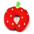 Cartoon plush U-shaped pillow strawberry