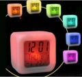 Colorful color feel alarm clock large random color