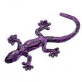 Personalized 3D three-dimensional alloy gecko car Sticker/reflective car Sticker