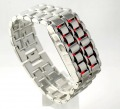 Stainless Steel LED RED Digital Unsex Bracelet Watch