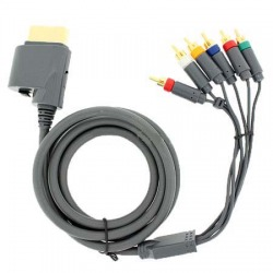 xbox 360 componet HD AV high definition HDVT cable
