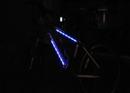 Blue bike bicycle color rainbow led light bar strip wheel tyre spoke blue bike bicycle color rainbow led light bar strip wheel tyre spoke decoration aloadofball Image collections