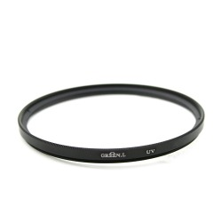 77 mm 77mm Haze UV Filter Lens Protector Green L