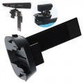 Xbox 360 Kinect & PS3 Move 2 in 1 Universal Black Plastic Sliding Camera Clip Mount