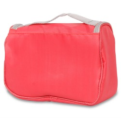 Multi-functional waterproof wash bag with hook Pouch watermelon red