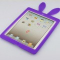 Apple iPad 2random color Rabbit Silicone Case Cover + Suction Stand