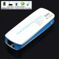 New Portable 3G Wifi Router 150M / Mobile Power Bank 1800mAh