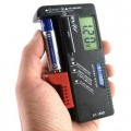 1.5V AA AAA CD Cell 9V Batteries UniversalScales Handheld Battery Volt Tester