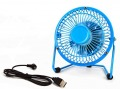 Notebook Laptop Computer Portable Super Mute PC USB Cooler Cooling Desk Mini Fan 4 inch