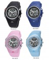 PASNEW Water-proof Boy & Girl Sport Watch Double Movement PSE-352