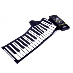 2013 hot selling 61keys USBsilicone flexible roll up piano