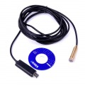 USB Waterproof Endoscope Inspection Camera Wire Cam 4 LED
