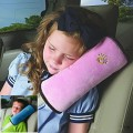 Kids/Adults Car Seat Lap-belt Case Shoulder Pillow Guard Pad Sleep Cushion Safety