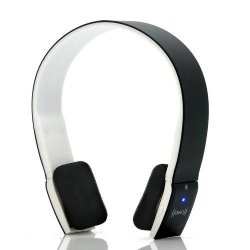 "Wireless Bluetooth Headset ""Curve"" - Bluetooth + NFC Function Ergonomic Design Built-in Battery"