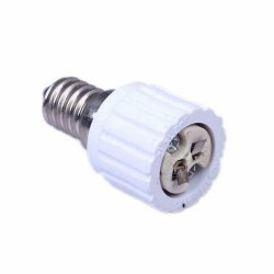 1x New E14 to MR16 Socket LED Halogen CFL Light Base Converter Extend Adapter