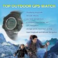 All The Way Outdoor GPS Watch Waterproof Sport Watches GPS Tracker Compass Automatic Readier