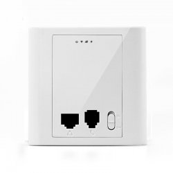 300Mbps 802.11n Inwall PoE Access Point PW300