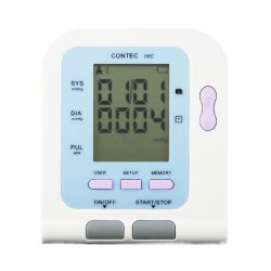 Contec08C LCD electronic sphygmomanometer New Arm Digital NIBP Sp02 Monitor memorable white