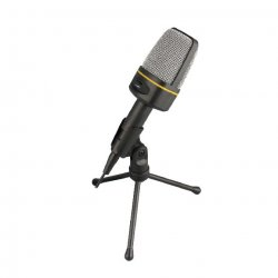 Laptop Notebook PC Computer Condenser Microphone with Desktop mic stand