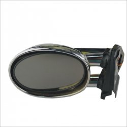 006C Auto Lamp Rearview Mirror With Light--Silver 2PCS