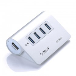 ORICO M3H4 Aluminum High Speed Mini 4 Port Micro USB 3.0 HUB with CE FC Certification