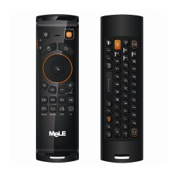 Mele F10 Deluxe Fly Air Mouse Wireless Keyboard mouse Remote Control 2.4GHz 6 Axial Gyro Game IR Learning Function for TV Box