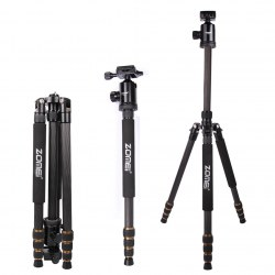 Professional Portable Camera Tripod For Most Digital Cameras Camcorder Z688c