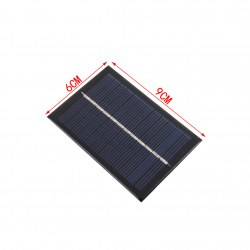0.6W 6V Polycrystalline Silicon Solar Panel Mobile Phone Digital Products