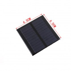 0.6W 5.5V Polycrystalline Solar Panels Solar Panels For A Variety Of Products