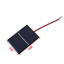 0.65W 1.5V Polycrystalline Silicon Solar Panel Mobile Phone Digital Products