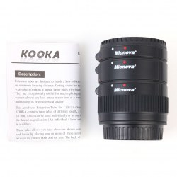 AF Macro Extension Tube Set for Camera (12mm,20mm,36mm) KOOKA KK-C68P