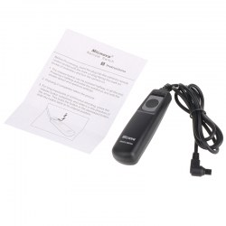 Camera Shutter Release for Canon EOS 10D, 20D, 30D, 40, 50D, D30, D60,5D Mark II