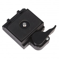 Quick Release Plate 200PL-14 PL Black Camera Quick Release Clamp Adapter