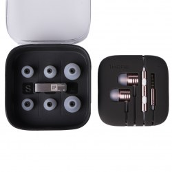 1MORE Piston Headphones Rose Gold In-ear Earphone Stereo Sweatproof Headset